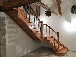 escaliers métallerie menuiserie pose porte à montcorbon dans le