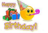 Happy Birthday Smiley