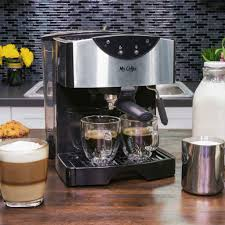Amazon Mr Coffee Automatic Dual Shot Espresso Cappuccino System Machines Kitchen Dining
