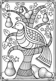 Bird In Pear Tree