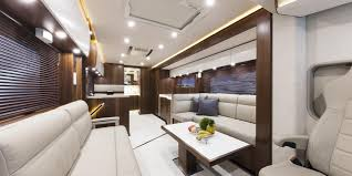 Inside The Luxurious GBP1 Million Mercedes Motorhome That Sleeps A Family Of Six And Your Porsche