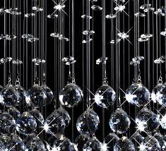 büromöbel deckenle kristall tröpfchen hängeleuchte kugel
