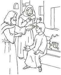 Monster Up Coloring Pages Jesus Growing Kids
