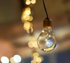 vintage style light bulb string lights