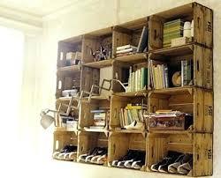 Crate Wall Milk Shelves It Guideme