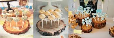 Wood Ring Cake Pop Stands