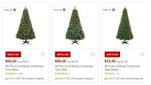 Target Artificial Christmas Trees Unlit by 50 Off Christmas Tree Sale At Target Freebies2deals