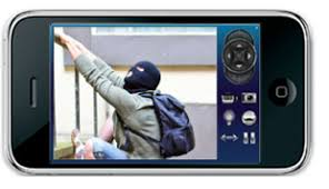 Can I watch my business security cameras from my iPhone