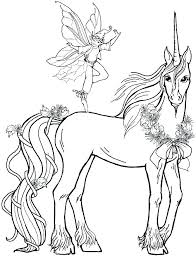 Unicorn Coloring Pages For Adults Hard Page