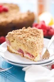 Lightend Up Lemon Berry Cream Cheese Coffee Cake With Salt and Wit