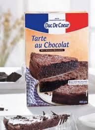 duc de coeur lidl backmischung tarte au chocolat 490