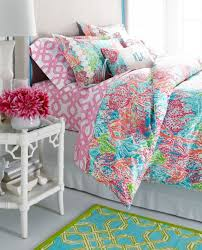 Amazing Lilly Pulitzer Sister Florals Duvet Cover Collection