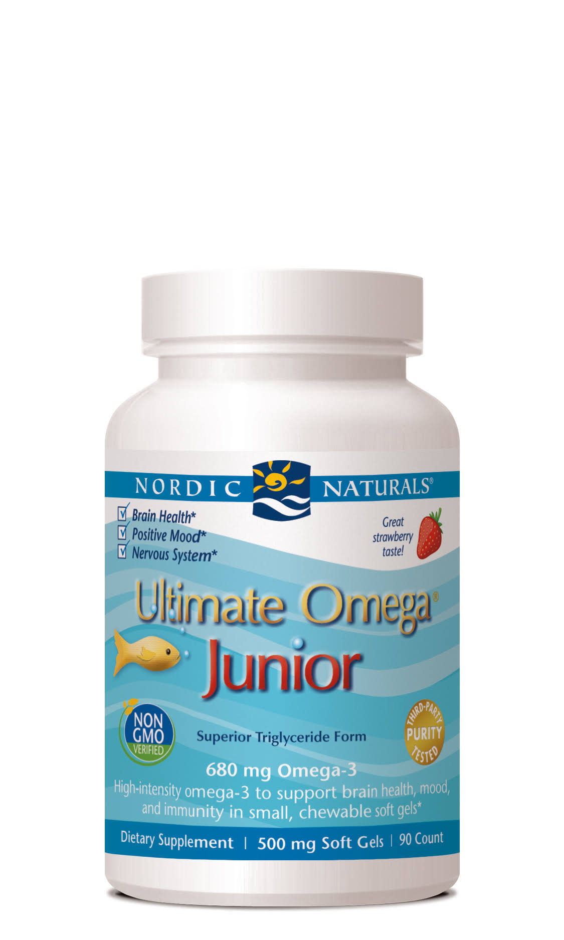 Nordic Naturals Ultimate Omega Junior - 500mg, 90 ct