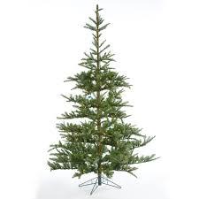 Pre Lit Windsor Artificial Fir Christmas Tree 7ft Notcutts