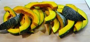Japanese Pumpkin Recipe Roasted by Roasted Kabocha Squash With Warm Spices Recipe Whats Cooking America