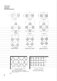 types and sizes of table arrangements restaurant tables