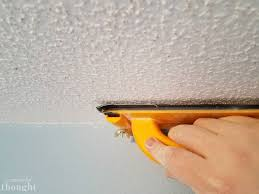 Scraping Popcorn Ceiling Off by 2 Ways To Remove Popcorn Ceilings A Wonderful Thought