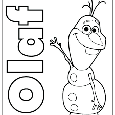 Frozen Coloring Pages For Kids Printable With Picture Of From Colouring