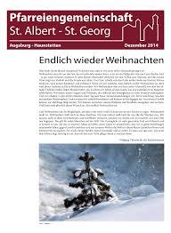 Kã Che Lutz Augsburg Pfarreiengemeinschaft St Albert St Georg