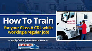 How To Train For Your Class A CDL While Working A Regular Job ...