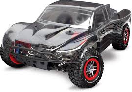 100 Slash Rc Truck Amazoncom Traxxas 110 4X4 Brushless Short Course