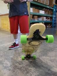 Wiredsport Warehouse Skate Sesh On The Woodstock 8-Track Longboard ...