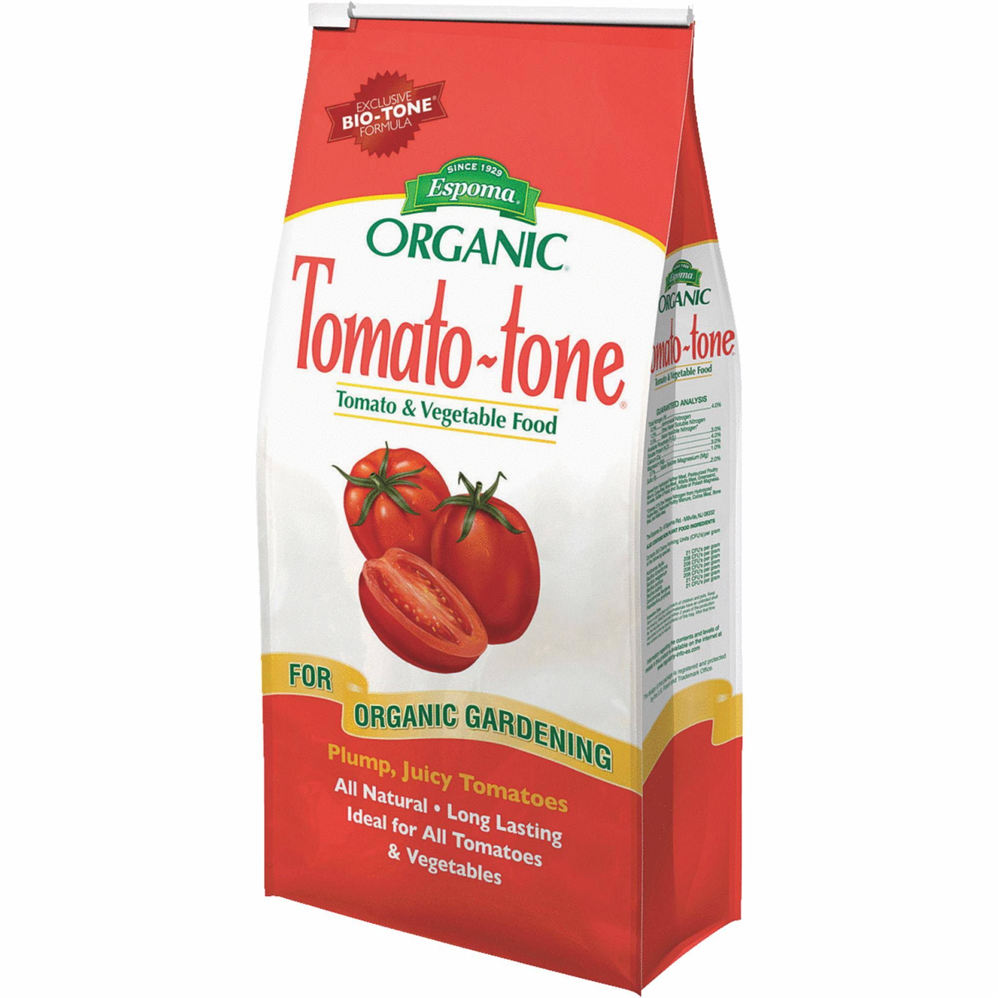 Tomato Tone Organic Fertilizer - All Your Tomatoes, 4lbs
