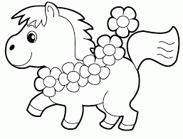 Cute Little Animal Coloring Pages Printable Sheet