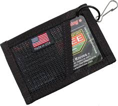esee cordura card holder black knifecenter esee card holder b