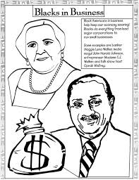 Coloring Pages For Black History Month 13 Kids 4 Free Printable