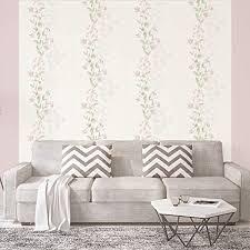 patterned wallpaper moderne blumentapete im landhaus stil
