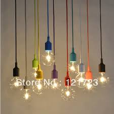 colorful small pendant light decoration pendant light bar table