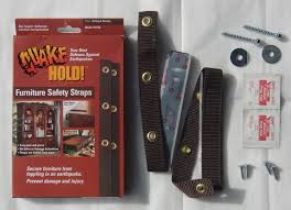 Product Review Quake Hold Furniture Safety Straps