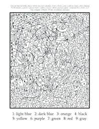 Coloring Pages For Adults Quotes Girls Number Free Printable Color By Numbers Animals Hard Best Valuable