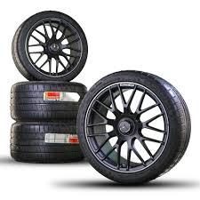 100 20 Inch Truck Rims 19 Inch Rims AMG Mercedes Benz GT C Aluminum Rims Summer Tires