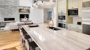 comptoir de cuisine quartz blanc comptoir de cuisine 5 revêtements de comptoir tendances
