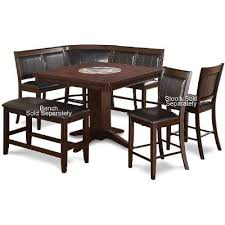 4 Piece Dining Room Sets by 4 Piece Counter Height Dining Set Harrison Brown Rc Willey