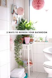 Plants In Bathrooms Ideas by 3 Easy Bathroom Ideas That Will Completely Refresh Your Space