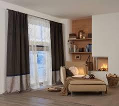 wohnzimmer gardine braun 2 vielfältige plissees
