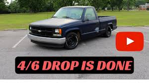 100 Drop Kits For Trucks 46 DROP KIT INSTALL ON 8898 CHEVY PICKUP PART 6 DONE YouTube