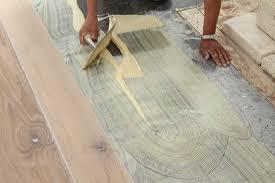 Interesting Design How To Install Engineered Wood Flooring Over Plywood Hardwood Foundation