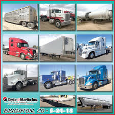 100 Taylor And Martin Truck Auctions Absolute Public Auction In Brighton Inc