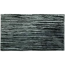 schöner wohnen kollektion badematte mauritius badezimmerteppich rutschfest und waschbar design streifen grau 60 x 60 cm