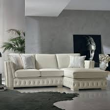 canapé style italien canapé d angle italien en cuir blanc de style classique teseo