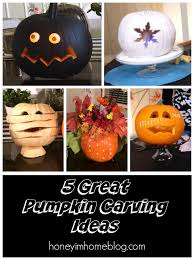 Cool Pumpkin Carving Ideas by Honey I U0027m Home 5 Creative Pumpkin Carving Ideas A Sara Jane Post