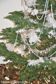 Beautiful Inspiration Crystal Garland For Christmas Tree Bead