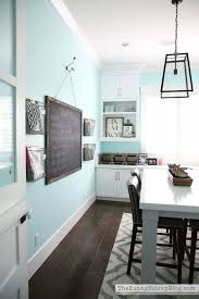 Decorated Office Craft Room Bedroom Paint ColorsAqua ColorsWall ColorsTiffany Blue OfficeBlue DecorAqua OfficeAqua KitchenBlue