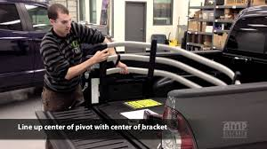 amp research bedxtender hd install for toyota tacoma youtube
