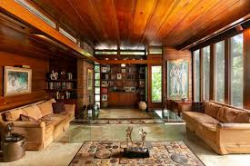 100 Frank Lloyd Wright Houses Interiors Wellpreserved Usonian Heads To Auction