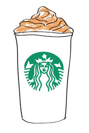 1320 Starbucks Coffee Cappuccino Height 9 Cm Decal Sticker